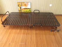 summer massage single paulownia wood batten bed
