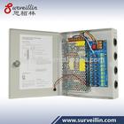 9CH 12v 10a dc cctv power supply