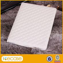 Grid Pattern Design Flip Leather Case foar iPad Mini 2, for ipad luxury PU case