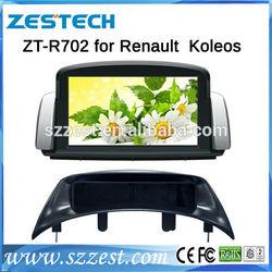 ZESTECH China Factory OEM 2 Din car dvd for Renault Koleos