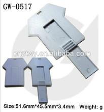 2014 new idea clothes shaped plastic usb drive,Free logo plastic pendrive 1gb to 64gb, wholesale price usb stick