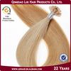 2014 Ali express escrow Italian keratin Remy u-tip prebonded hair extension