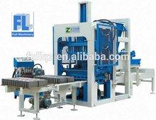 FULI Machienry QT4-20 coal ash brick making machine