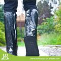 Pvc negro altura 40cm zapatos para la lluvia de la cubierta, zapatos de trabajo de la cubierta