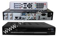 satellite receiver azfox z2s with twin tuner in stock
