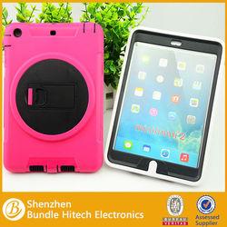 Wholesale Shockproof case for ipad mini , hybrid for ipad mini case