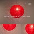 La decoración del hogar artesanía con huecos- a cabo el diseño linterna de papel