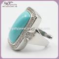 anillo de piedra grande diseños de gran anillo de la joyería de piedras