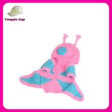 Handmade Children Hat Newborn Baby Crochet Animal Beanies Photography Props infant Costume Outfits