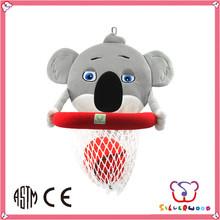 GSV SEDEX Factory wholesale cute baby plush toys mini soft basketball