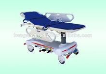 Verstellbare pp kunststoff krankenhaus erste-hilfe-trage für die Rettung
