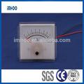 Analógico medidor de corriente 60 x 60 AC voltaje del amperímetro digital / ampere meter