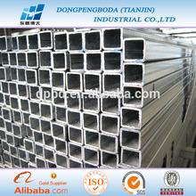 pre galvanized steel pipe 38*38mm for structure