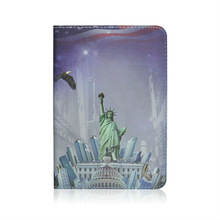 New Arrival USA The Status of Liberty Landscape Printed Cover Stand Case For iPad Mini