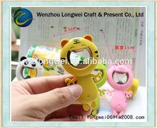 tiger shaped funny bottle opener/bottle cap opener