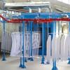 electrostatic powder coating line teflon coating spray