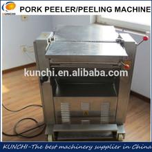KUNCHI pig skin peeler/cow skin stripping machine/animal peeling machine