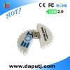 China Manufacturer oem custom shape pvc usb Real Full Capacity