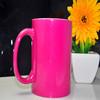 11 oz sublimation magic mug pink