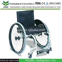 CARE-- Athlete dedicated alloy wheelchair