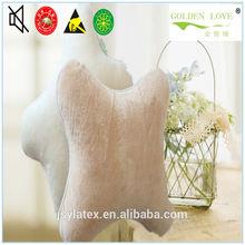 travel natural latex rubber foam car head pillow car neck cushion