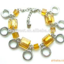 ethiopian bracelet jewelry, murano glass bracelet, topaz stone bracelet