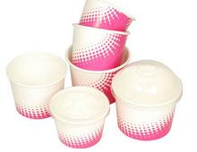 çin toptan çift kağıt bardak dondurulmuş yoğurt kapları( fpdde)