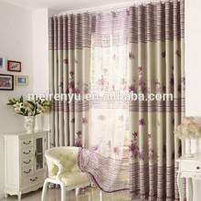 Home window curtain tassel and cheap curtain fabric