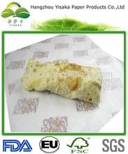 Ingrosso eco- Amichevole vergine messicano twister da imballaggio di carta oleata
