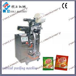 China manufacturer liquid tomato sauce packing machine