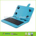 Wholesale PU leather flip keyboard case for ipad mini