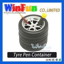 Tire Design Pen Holder Pen Stand For Car