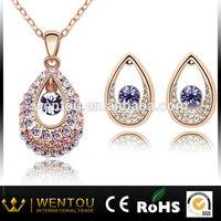 Hot sale delicate diamond necklace sets
