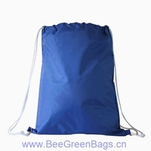 2014 Fashion Cheap 70D Polyester drawstring gift bag with Carry Tab