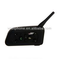 6 riders 1200M wireless full duplex hands free headset walkie talkie