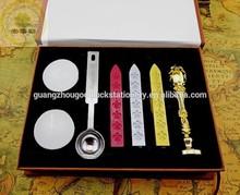 2014 GOODLUCK Handy Wedding LOGO Sealing Wax Seal Luxury Kit/Supplying Wax Seal Kit