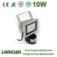 Sensor 10W LED Spotlight outdoor lighting