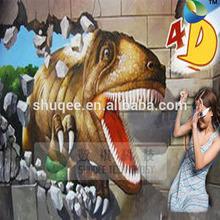 Fantastic 4D dinosaur box, 4D effects system equipment