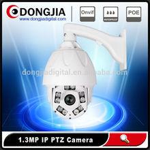 Waterproof night vision high speed dome p2p poe 1.3mp 960p full hd cheap onvif ip ptz camera