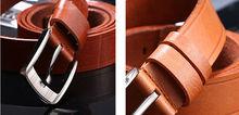 Top quality Leisure men's genuine/ cowskin leather mens belt