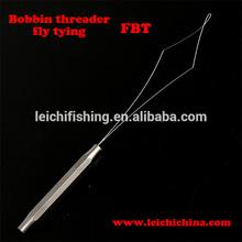 Supply fly tying bobbin threader