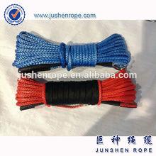 Good quality new design 6mm*15m atv/utv synthetic winch rope