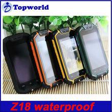 Original Z18 smart phone 2.5inch MTK6572 Dual Core Android 4.0 Waterproof Dustproof and Shockproof Mobile Phone