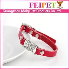 Hot sale leather cat collar,training cat collar