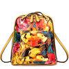 GL441 newest designer flower patent leather travelling bag