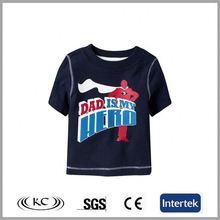 low price hotsale 100 cotton black fashion girls full hand t-shirts