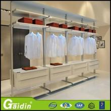 Foshan Manufacture high quality bedroom wardrobe furniture oak solid wood wardrobe