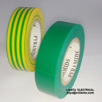 """50 FT General Purpose 0.6"""" Inch Vinyl PVC Black Insulated Electrical Tape"""