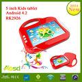 o mais novo 2014 rockchip 2926 5 polegadas digital tablet de desenho para crianças