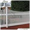 Fentech White Decorative Picket Fence PVC Fence farm fence pvc vinyl fence